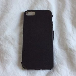 Leather I phone 5 case Well worn